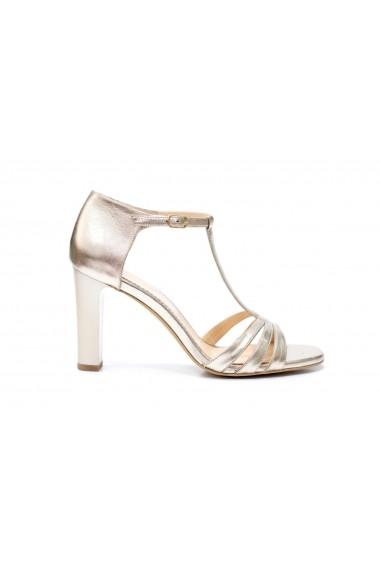 Sandale cu toc Thea Visconti S-334-19-321 Aurii