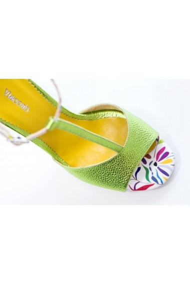 Sandale cu toc Thea Visconti S-338-19-321 Multicolor