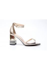Sandale cu toc Thea Visconti S-340-19-962 Auriu