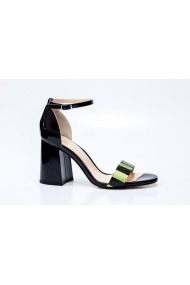 Sandale cu toc Thea Visconti S-343-19-321 Negru