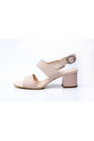 Sandale din piele Thea Visconti S-309-19-947 Nude