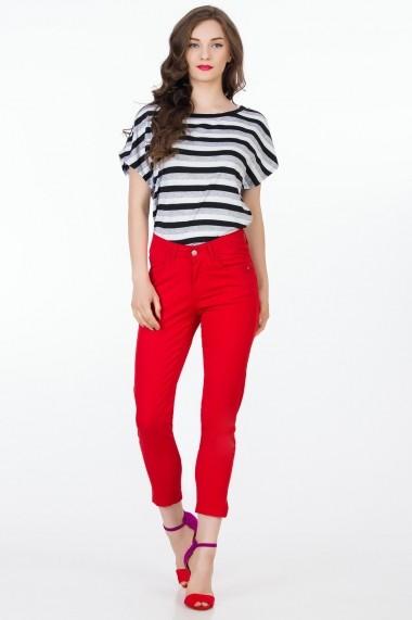 Pantaloni Sense Sonya FSE-XC145--10 rosu