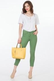 Pantaloni Sense Sonya FSE-XC145--321 verde deschis