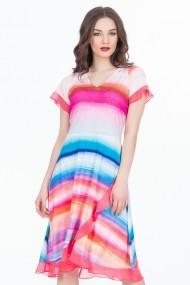 Rochie scurta Sense Rainbow multicolor