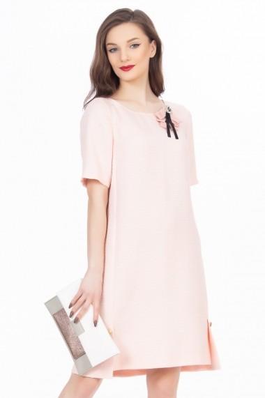 Rochie midi Sense Anna FSE-CA4774--34 roz