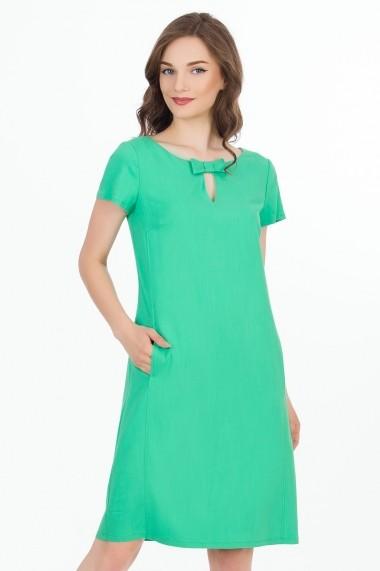 Rochie midi midi Sense Carla FSE-CA4614--5 verde