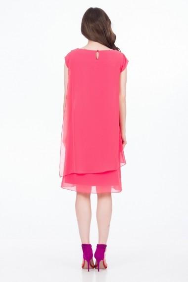 Rochie scurta Sense FSE-SLE752--34 Greta roz