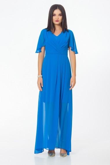 Rochie lunga Sense FSE-SLE754--8 Iris Albastru