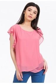 Bluza Sense voal Sophia roz