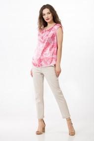 Bluza Sense imprimata Alberta roz