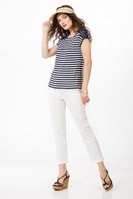 Bluza Sense jersey Liv navy+alb
