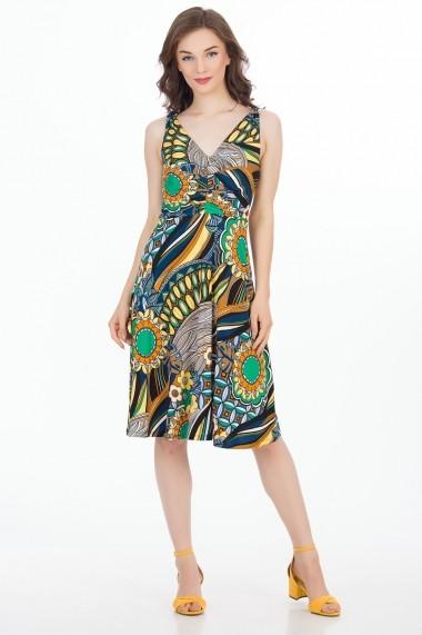 Rochie de zi Sense Rhianna FSE-CA4566--114 multicolora