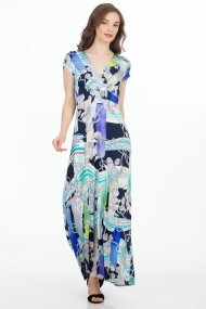 Rochie de zi Sense Holiday FSE-CA4543--114 multicolora
