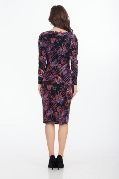 Rochie de zi Sense Lady SLE720 multicolora