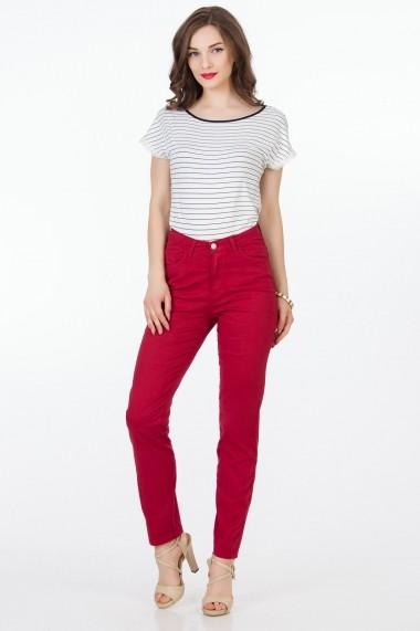 Pantaloni Sense Melody FSE-XC144--20 bordo