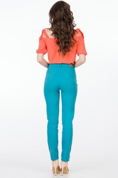Pantaloni Sense Melody FSE-XC144--50 turcoaz
