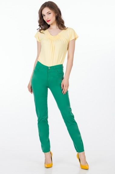 Pantaloni Sense Melody FSE-XC144--5 verde