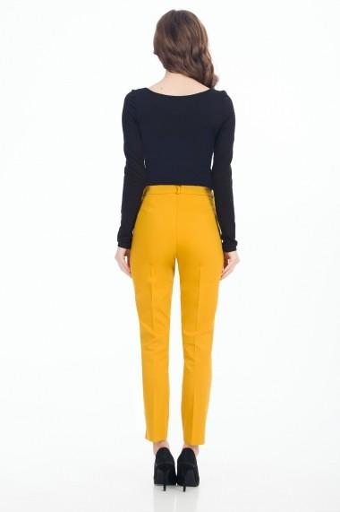 Pantaloni Sense Cecile mustar