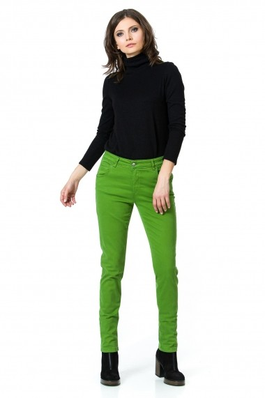 Pantaloni skinny Sense XC193 Martina verde