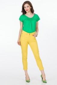 Pantaloni Sense Sonya FSE-XC145--35 galben