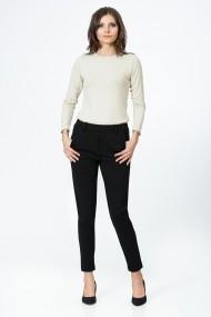Pantaloni drepti Sense XC191 Thea negru