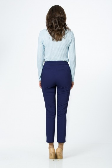 Pantaloni drepti Sense CA4902 Morning bleumarin
