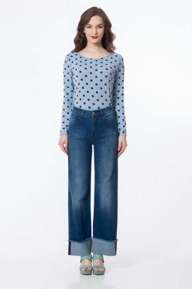Jeans Sense Purple albastru