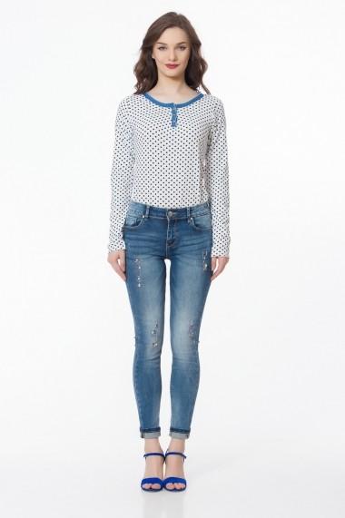 Jeans Sense Alice albastru