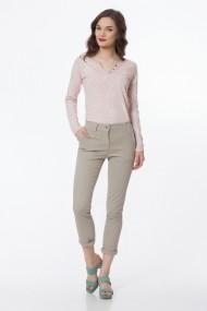 Pantaloni trei sferturi Sense Kristen bej