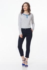 Pantaloni trei sferturi Sense Kristen bleumarin
