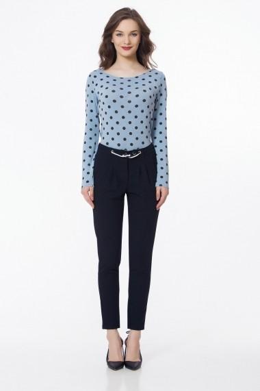 Pantaloni skinny Sense Brigitt bleumarin
