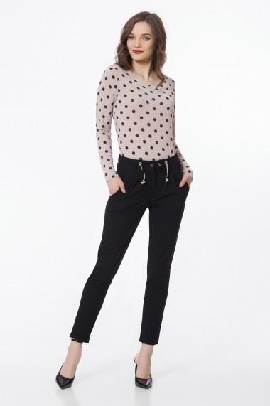 Pantaloni skinny Sense Brigitt negru