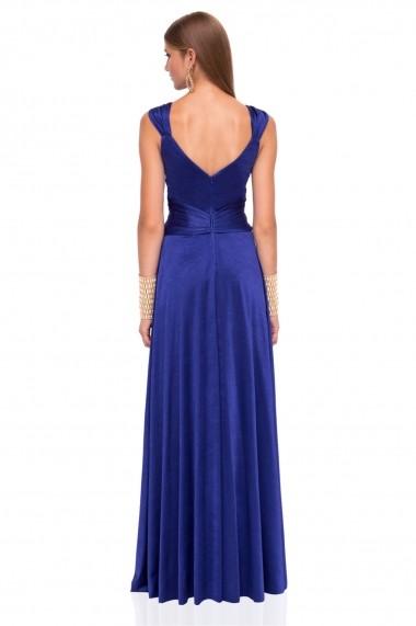 Rochie NISSA eleganta de seara Albastru