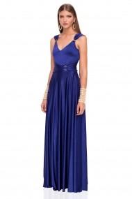 Rochie NISSA eleganta de seara albastra