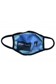 Masca de protectie din material textil men Stay Safe Albastru