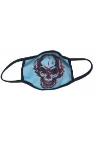 Masca de protectie din material textil men Blue Skeleton Albastru