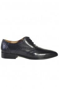 Pantofi Mopiel Frank 13701 negri
