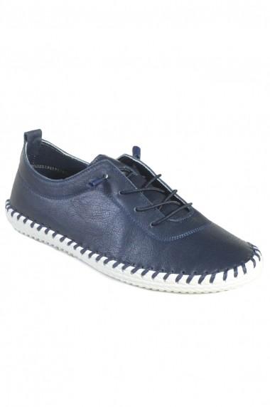 Pantofi Mopiel din piele naturala Luci 2383022 Blue