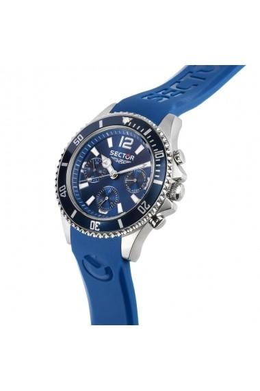 Ceas Sector R3251161047 albastru Multifunction carcasa inox, 43mm