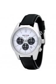Ceas Sector R3271786007 cronograf carcasa inox 41mm curea piele neagra