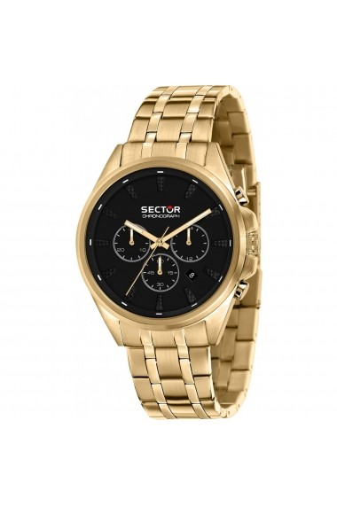 Ceas Sector R3273991002 cronograf inox auriu carcasa 44mm
