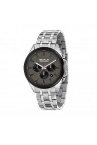 Ceas Sector R3273991003 cronograf inox carcasa 44mm cadran gri inchis