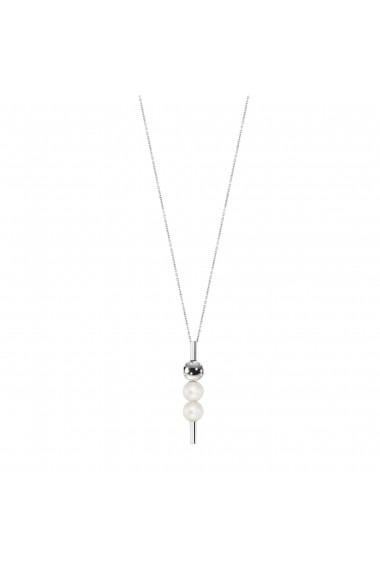 Colier Morellato Lunae SADX08 inox perle lungime 45cm