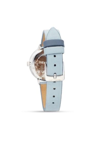 Ceas Morellato cod R0151141504, carcasa inox, 30mm, curea piele bleu