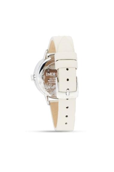 Ceas Morellato cod R0151141508, carcasa inox, 36mm, curea piele crem