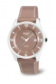 Ceas Boccia cod 3226-05, carcasa ceramica+capac titan, 37mm