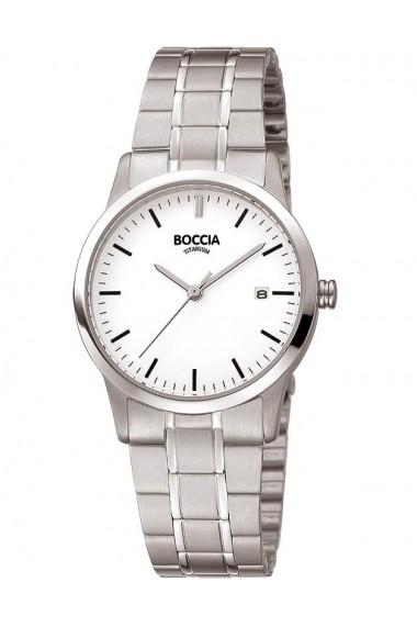 Ceas Boccia cod 3258-02, titan, carcasa 29mm