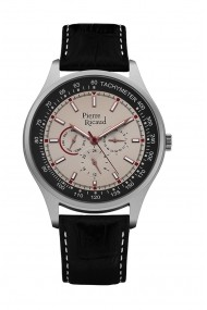 Ceas Pierre Ricaud P97008.5217QF, Multifunction, carcasa 44mm