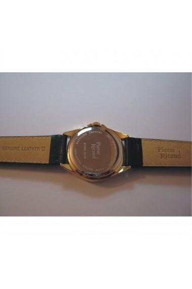Ceas Pierre Ricaud P97202.1213Q, carcasa inox auriu, 38mm