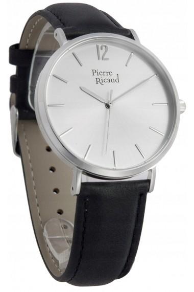 Ceas Pierre Ricaud P91078.5253Q, carcasa inox argintiu, 41mm